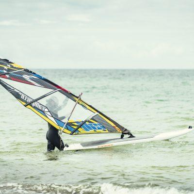 Windsurfen mit Max